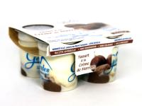 Yaourts confiture marrons x4